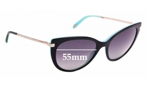Sunglass Fix Sunglass Replacement Lenses for Tiffany & Co TF 4143-B - 55mm Wide