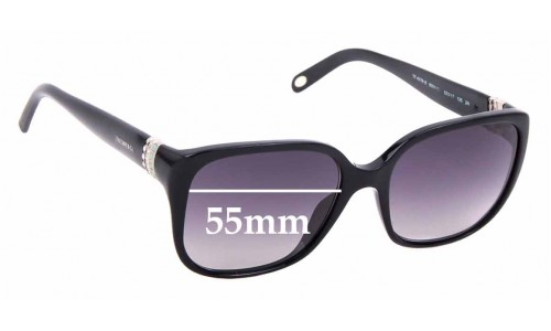 Sunglass Fix Sunglass Replacement Lenses for Tiffany & Co TF 4078-B - 55mm Wide