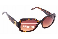 Sunglass Fix Sunglass Replacement Lenses for Tory Burch TY7135 - 55mm Wide