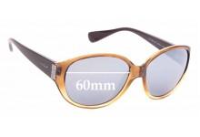 Sunglass Fix Sunglass Replacement Lenses for Vogue VO2760-SB - 60mm Wide