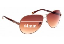 Sunglass Fix Sunglass Replacement Lenses for Vogue VO3752-S - 64mm Wide
