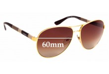 Sunglass Fix Sunglass Replacement Lenses for Vogue VO 3977-S - 60mm Wide