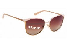 Sunglass Fix Sunglass Replacement Lenses for Vogue VO 4002-S - 55mm Wide