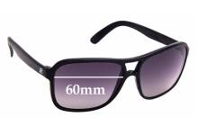 Sunglass Fix Sunglass Replacement Lenses for Vuarnet Pouilloux 003 - 60mm Wide