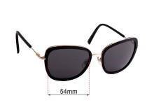 Sunglass Fix Sunglass Replacement Lenses for Carla Zampatti Sun Rx 12 - 54mm Wide