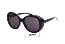 Sunglass Fix Sunglass Replacement Lenses for Childe Drummer - 56mm Wide