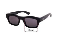 Sunglass Fix Sunglass Replacement Lenses for Childe Folsom - 50mm Wide