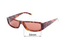 Sunglass Fix Sunglass Replacement Lenses for Childe Lyric - 54mm Wide