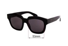 Sunglass Fix Sunglass Replacement Lenses for Childe Vivid - 53mm Wide