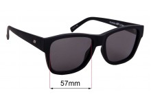 Sunglass Fix Sunglass Replacement Lenses for Le Specs The Force - 57mm Wide