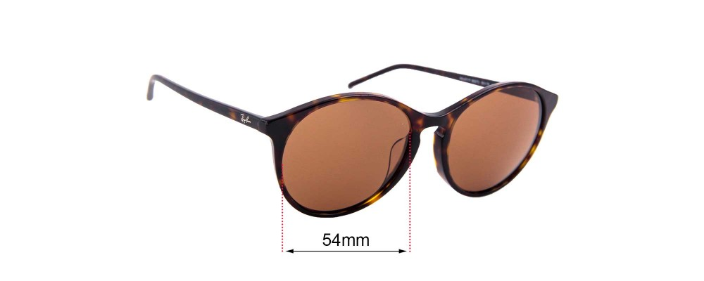 Sunglass Fix Sunglass Replacement Lenses for Ray Ban RB4371F - 55mm Wide
