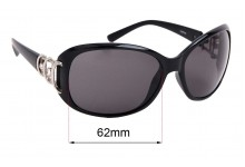 Sunglass Fix Sunglass Replacement Lenses for Spotters Sophia - 62mm Wide