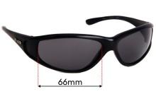 Sunglass Fix Sunglass Replacement Lenses for Zenith No Limits - 66mm Wide