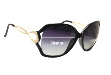 Sunglass Fix Sunglass Replacement Lenses for Forever Young 0402 - 58mm Wide