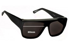 Sunglass Fix Sunglass Replacement Lenses for Ksubi Skat - 60mm Wide