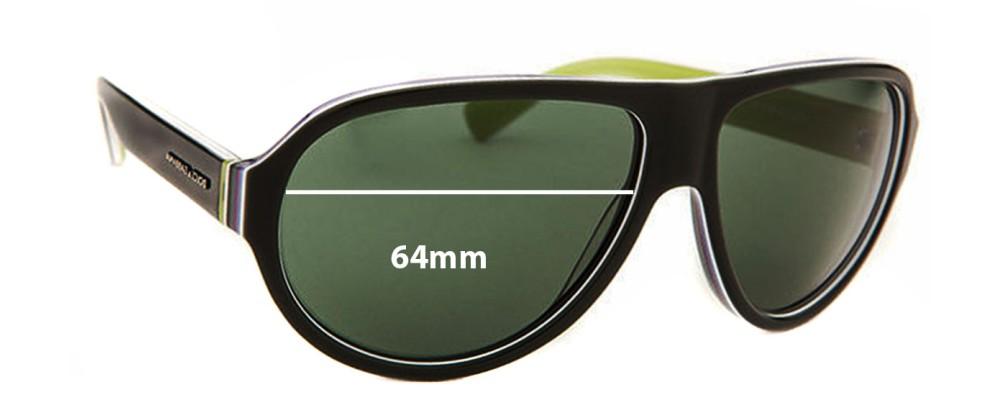 843441038a6a Sunglass Fix Sunglass Replacement Lenses for Dolce & Gabbana DG4204 - 64mm  wide