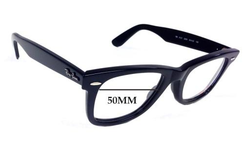 Sunglass Fix Sunglass Replacement Lenses for Ray Ban Wayfarer RB5121 - 50mm Wide