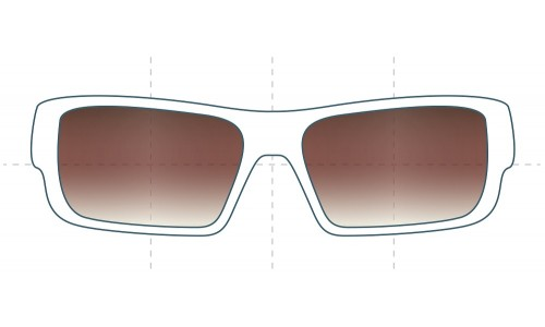 SFX Replacement Sunglass Lenses fits Electric Hoy 66MM Wide
