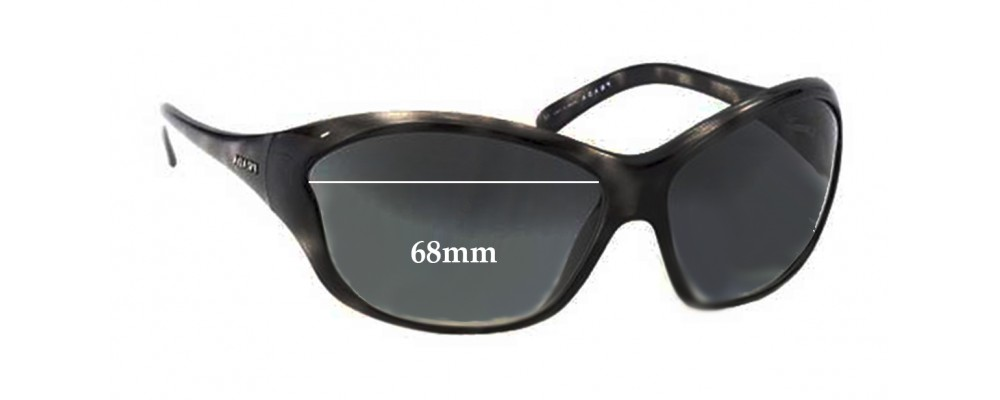 Sunglass Fix Sunglass Replacement Lenses for Prada SPR25G 68mm Wide