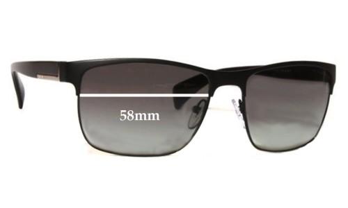 Sunglass Fix Sunglass Replacement Lenses for Prada SPR51O 58mm Wide