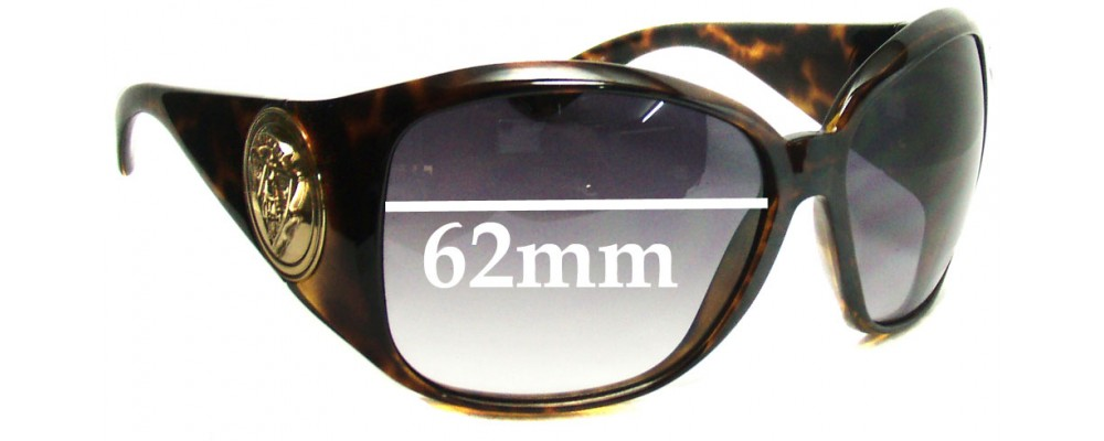 Sunglass Fix Replacement Lenses for Gucci GG3027/S - 62mm Wide