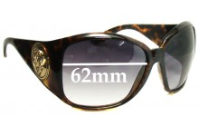 Sunglass Fix Sunglass Replacement Lenses for Gucci GG 3027/S - 62mm Wide