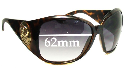 Sunglass Fix Sunglass Replacement Lenses for Gucci GG3027S - 62mm Wide