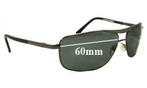 Sunglass Fix Sunglass Replacement Lenses for Ray Ban RB8019 - 59-60mm wide