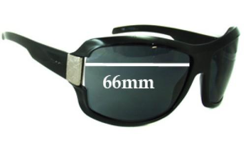 Sunglass Fix Sunglass Replacement Lenses for Gucci GG1510 - 66mm wide