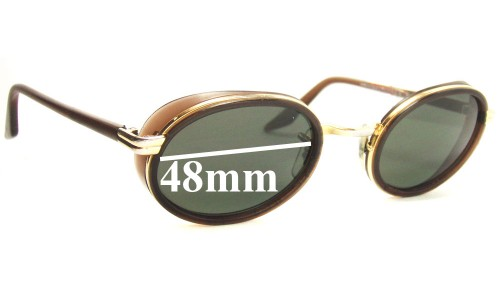 Sunglass Fix Sunglass Replacement Lenses for Ray Ban B&L W2314 - 48mm Wide