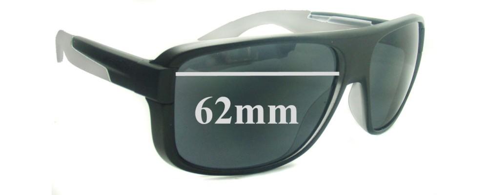 Sunglass Fix Sunglass Replacement Lenses for Arnette Glory Daze AN4161 - 62mm Wide