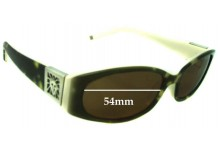 Sunglass Fix Sunglass Replacement Lenses for Anne Klein - 54mm Wide