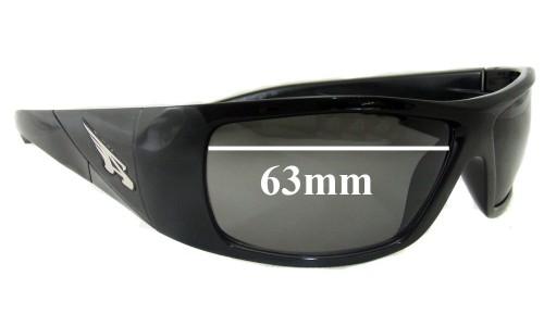 Sunglass Fix Sunglass Replacement Lenses for Arnette AN4113 The Score 63mm wide