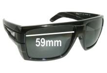 Sunglass Fix Sunglass Replacement Lenses for Arnette Heavy Hitter AN4150 - 59mm Wide