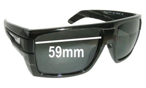 Sunglass Fix Sunglass Replacement Lenses for Arnette Heavy Hitter AN4150 - Lens Width 59mm
