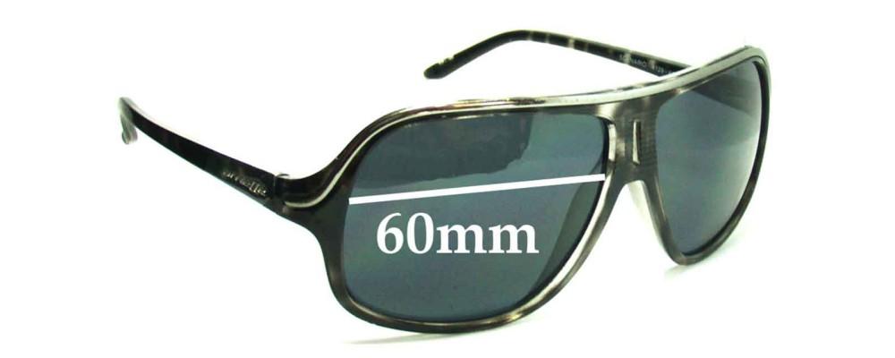 Sunglass Fix Replacement Lenses for Arnette Scenario AN4129 - 60mm Wide