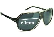 Sunglass Fix Sunglass Replacement Lenses for Arnette Scenario AN4129 - 60mm Wide