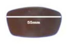 Sunglass Fix Sunglass Replacement Lenses for Arnette Swinger AN225  - 55mm Wide