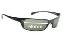 Sunglass Fix Sunglass Replacement Lenses for Arnette Tron AN3032 - 68mm Wide