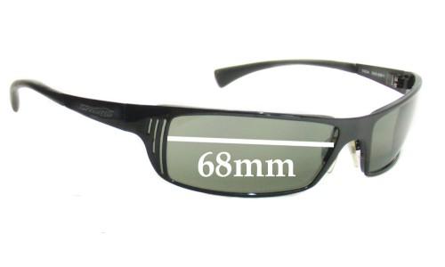 Sunglass Fix Sunglass Replacement Lenses for Arnette TRON AN3032 - 68mm Wide Lens