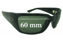 Sunglass Fix Sunglass Replacement Lenses for Blinde Unknown Model - 60mm Wide