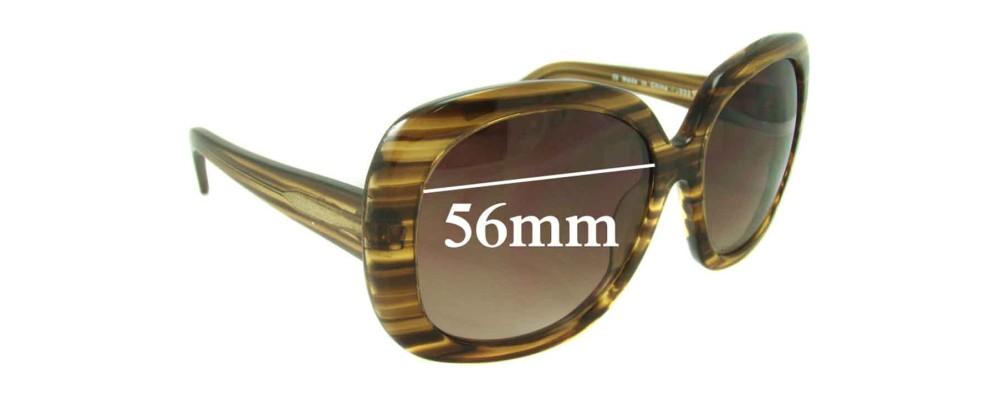 Sunglass Fix Sunglass Replacement Lenses for Boden Classic - 56mm Wide