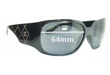 Sunglass Fix Sunglass Replacement Lenses for Chanel 5080 - 64mm Wide