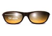 Sunglass Fix Sunglass Replacement Lenses for Calvin Klein CK3014 - 54mm Wide