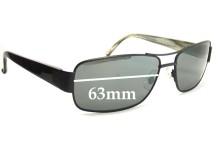 Sunglass Fix Sunglass Replacement Lenses for CYMA SCM-1010 - 63mm Wide