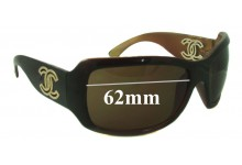 Sunglass Fix Sunglass Replacement Lenses for Chanel 6018 - 62mm Wide