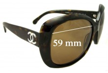 Sunglass Fix Sunglass Replacement Lenses for Chanel 5183 - 59mm Wide
