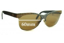 Sunglass Fix Sunglass Replacement Lenses for Charles Jourdan 8501 CJ132 - 60mm Wide