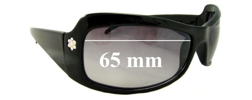 Sunglass Fix Sunglass Replacement Lenses for Christelle 2158 - 65mm Wide