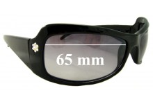 Sunglass Fix Sunglass Replacement Lenses for Christelle 2158 - 65mm Wide